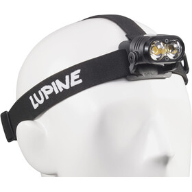 Lupine Piko RX Duo - Lampe frontale - 1800 lm FastClick avec commande à distance Bluetooth + support noir